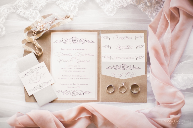 Houston Station Wedding Claudia Ernesto S Blush And