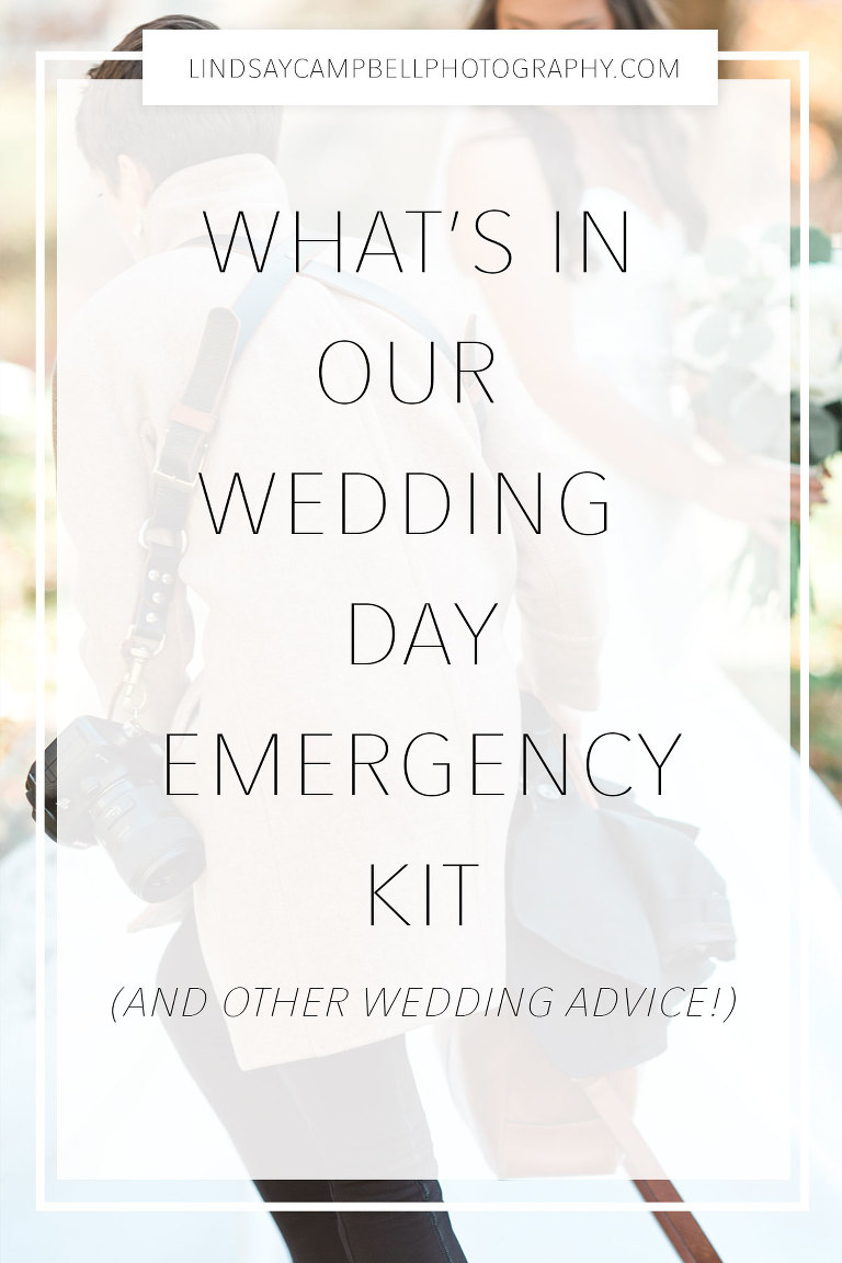 Wedding Day Emergency Kit.What S In Our Wedding Day Emergency Kit Nashville Wedding Photographer